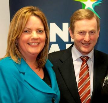 LOYAL UNTIL THE LAST: Enda Kenny was great friends with the late Nicky McFadden