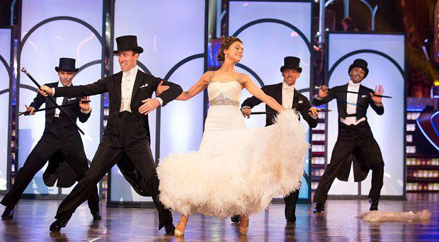 Anton Du Beke and Katie Derham Photo: BBC Pictures