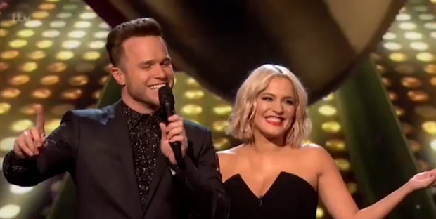 Olly Murs laughed off last week's giant X Factor blunder