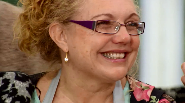 Sandra was eliminated from The Great Irish Bake Off this week