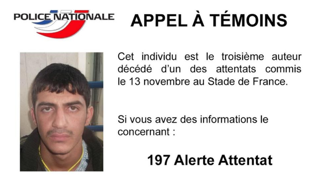 French police released the photograph today.