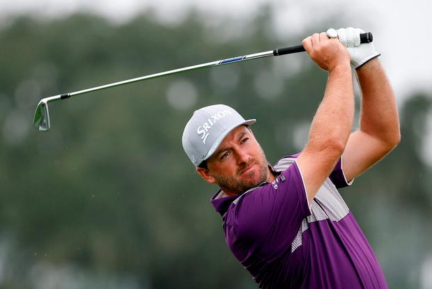 McDowell ended the day on 12-under-par