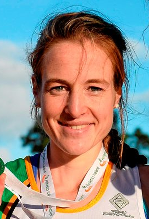 Fionnuala McCormack finished in first place