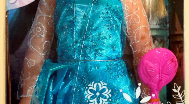 Some of the counterfeit goods include Frozen dolls (the fake has no Disney logo)