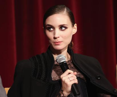 NEW YORK, NY - NOVEMBER 16: Rooney Mara attends The Academy Of Motion Picture Arts And Sciences Hosts An Official Academy Screening Of CAROL on November 16, 2015 in New York City. (Photo by Robin Marchant/Getty Images for Academy of Motion Picture Arts and Sciences)