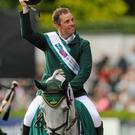 Cian O'Connor, Ireland, on his horse Good Luck