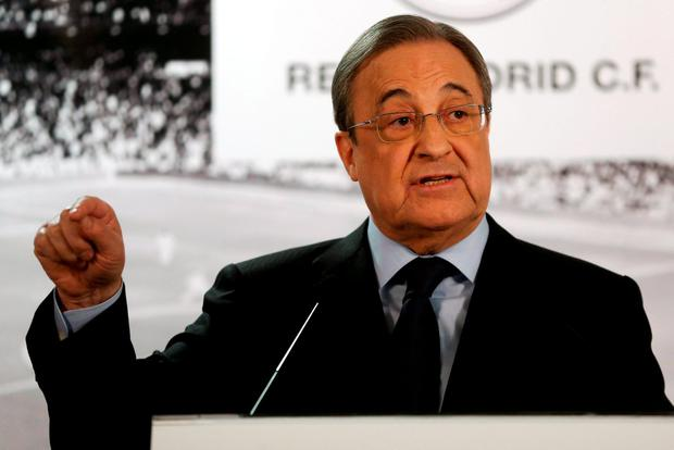 A defiant Florentino Perez has backed Rafa Benitez and blamed the media for Real Madrid's woes