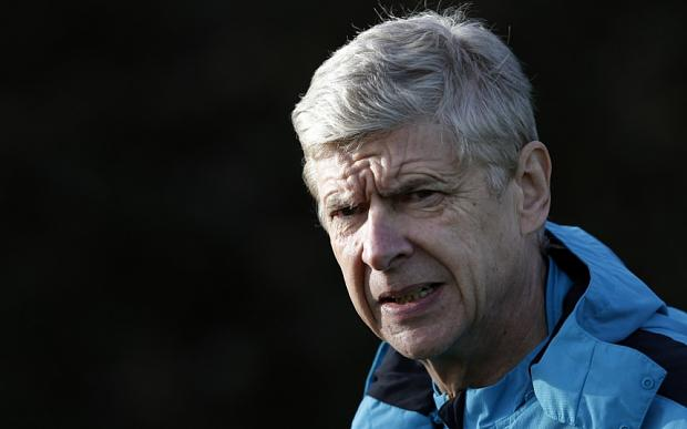 Defiant: Arsène Wenger is refusing to give up on Arsenal's chances in the Champions League