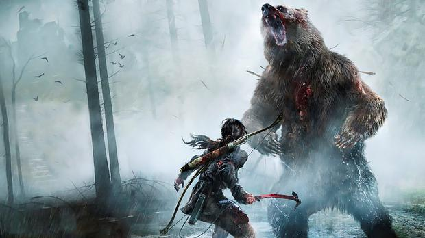 Rise of the Tomb Raider: bear-hunting an optional pursuit