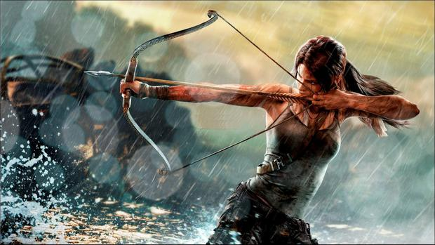 Rise of the Tomb Raider: trusty bow and arrow