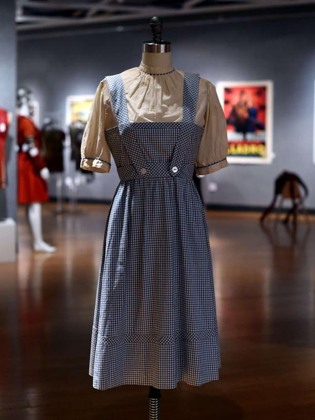 The iconic dress received several bids at the New York auction Credit: Getty images