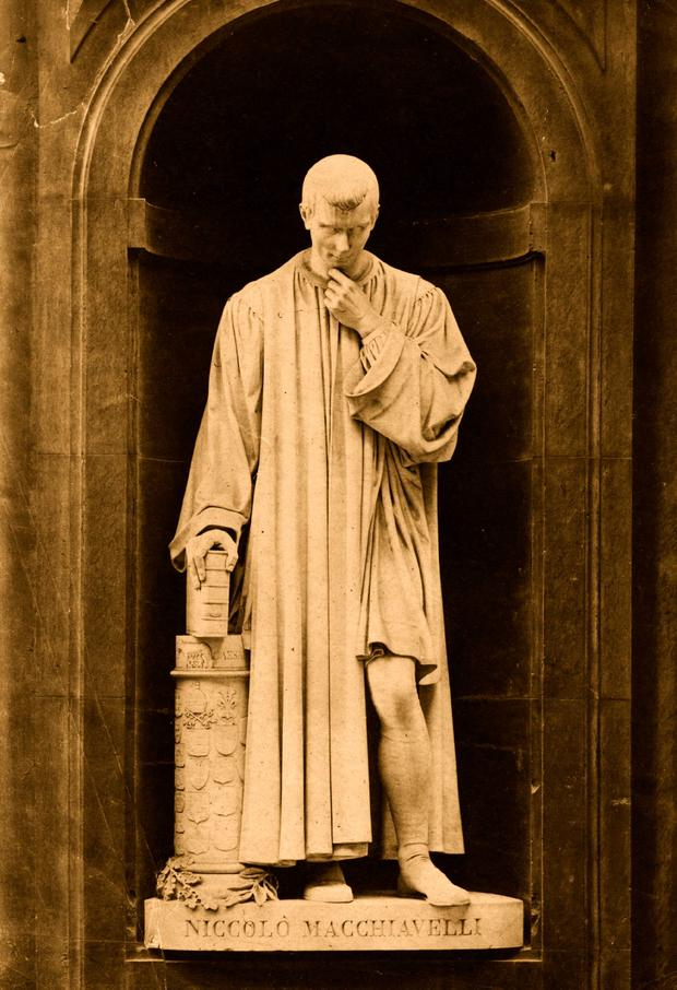 Niccolo Machiavelli wrote about how to achieve and hold power