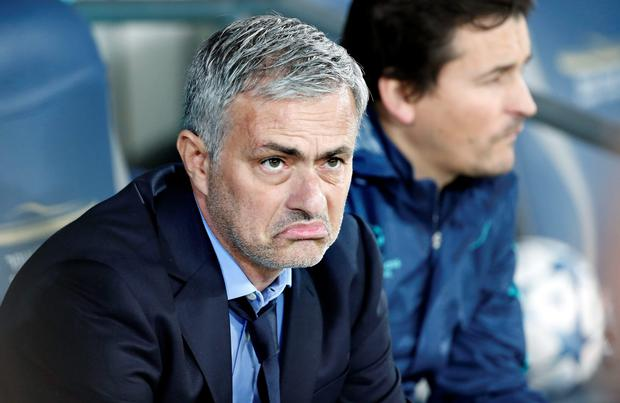 Jose Mourinho clashed with Costa shortly before half-time after the striker had failed to get on the end of an Eden Hazard cross into the six-yard box