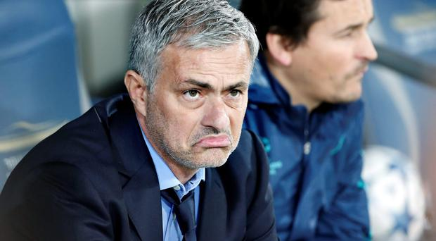 Under pressure Chelsea boss Jose Mourinho