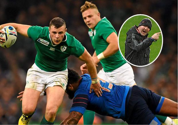 Robbie Henshaw is of interest to Anthony Foley (inset)