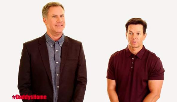 Will Ferrell and Mark Wahlberg announce they'll attend the Irish premiere of Daddy's Home