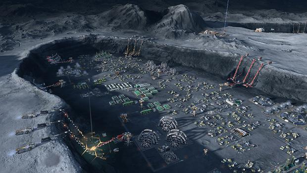 Anno 2205 - Craters are the islands of the moon