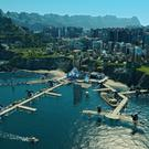 Anno 2205 - Your bustling city and the port that is its lifeline