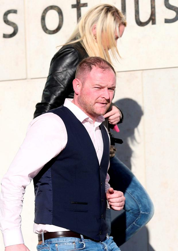 David Ward (30) and Lynsey Ivory (27) of The Beeches, Clonshaugh, Priorswood, Dublin, pleaded guilty at Dublin Circuit Criminal Court to attempting dishonesty by deception to cause a loss to FBD Insurance on dates between July 22, 2013 and January 1, 2014. Pic Collins Courts.