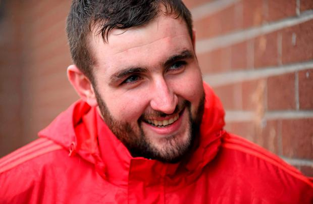 Munster's loosehead prop James Cronin is looking forward to a physical game