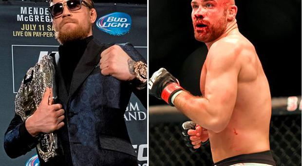 Conor McGregor has paid tribute to Cath Pendred (right)