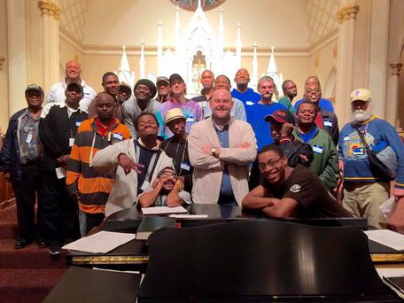 The Atlanta Homeward Choir will sing at the White House Open Night event in December 21 Credit: Atlanta Homeward Choir