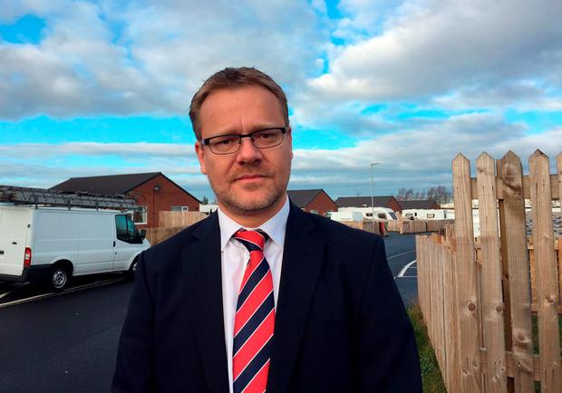 Detective Superintendent Adrian Green, who is leading the investigation into the ongoing feud between travellers at a site in West Rainton, near Durham where searches have been carried out after two teenagers' skulls were dug up and stolen from a grave