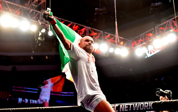 Irish UFC fighter Cathal Pendred