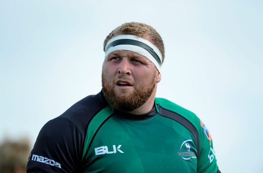 Buccaneers head coach and former Connacht prop Brett Wilkinson
