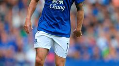 Everton's Aiden McGeady