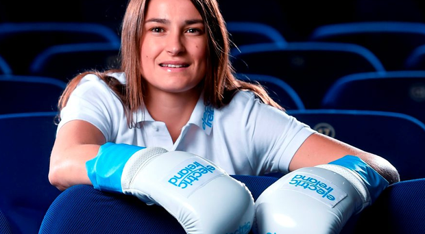 Olympic gold medallist Katie Taylor