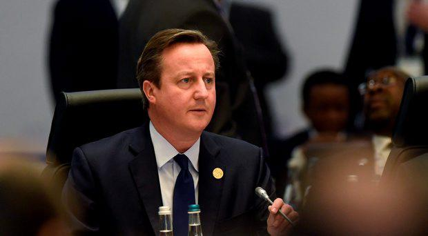 David Cameron believes that the time is now right to commit British forces