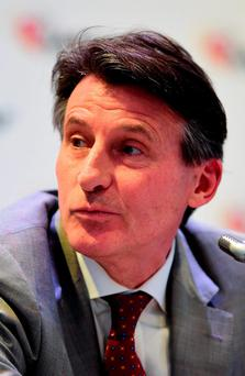 Sebastian Coe has stepped down from his Nike role
