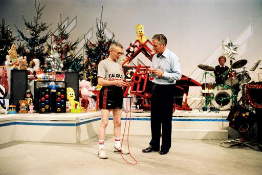 Skipping world record attempt on 'Late Late' toy show (1982)