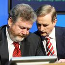 Enda Kenny and James Reilly
