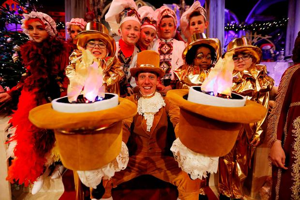 Ryan Tubridy pictured during the opening of the RTÉ Late Late Toy Show. Picture Andres Poveda