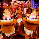 Ryan Tubridy dressed as Lumiere for the opening of the 'Beauty and the Beast'-themed 'Late Late Toy Show'