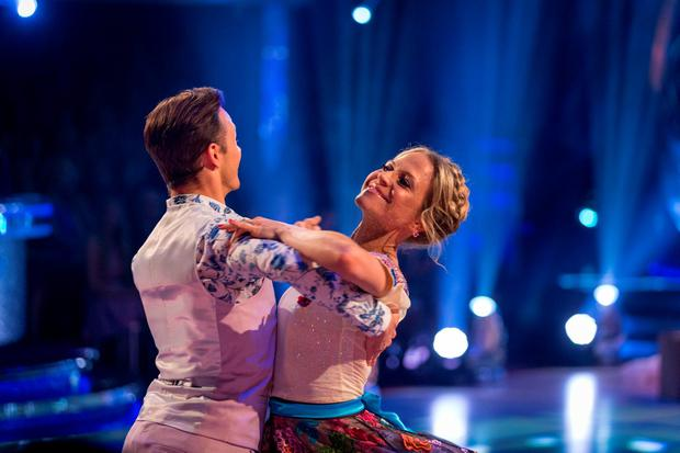 Kellie Bright is vying for the Strictly Come Dancing glitterball