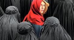 An insecure world: Claire Danes as Carrie Mathison in 'Homeland', a series in which its characters seem to understand Isil more than those who should be leading a campaign against the terrorist threat