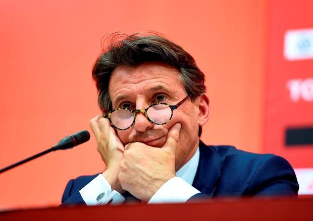 IAAF president Lord Coe continued to deny his association with Nike was a conflict of interest, even after quitting his ambassador's role with the company