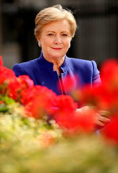 UNDER FIRE: Minister Frances Fitzgerald