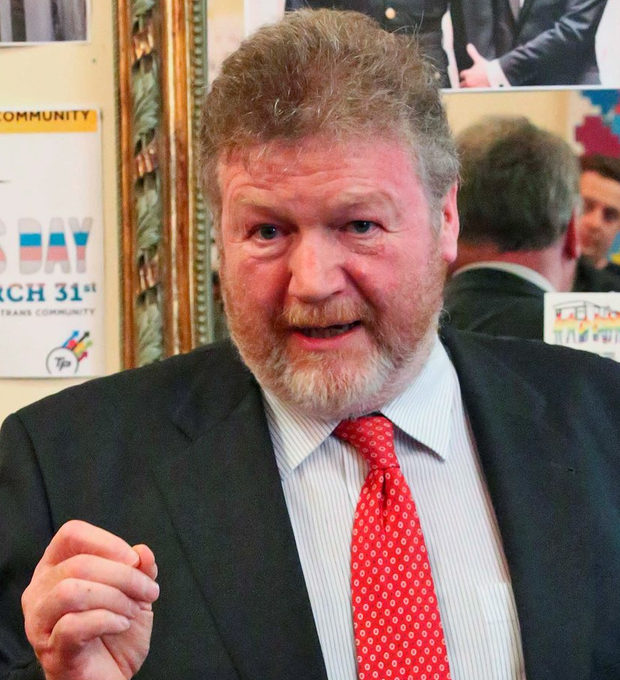 16/11/15 The Minister for Children and Youth Affairs, James Reilly TD, pictured during a visit to BeLonG ToÄôs offices in Dublin to talk with young LGBT people about the impact of the Marriage Equality Referendum on their lives, and to launch an eBook ÄòBeLonG To YES: Voices from the Marriage Equality CampaignÄô by Anna Carey, which tells the story of the pivotal role the BeLonG To YES campaign played in mobilising the youth vote & securing a yes vote on May 22nd...Picture Colin Keegan, Collins Dublin.