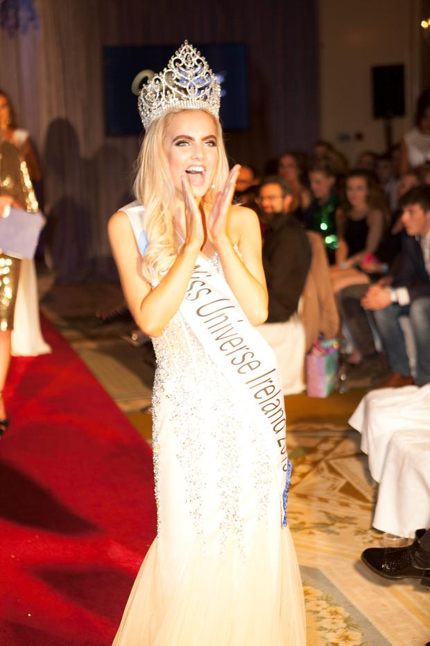 Joanna Cooper won the Miss Universe Ireland title in 2015. Picture: Eric Barry/Blink Of An Eye