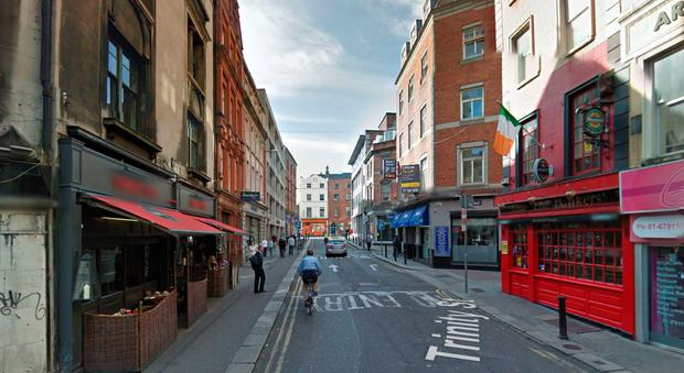 Trinity Street, Dublin (Photo: Google Maps)