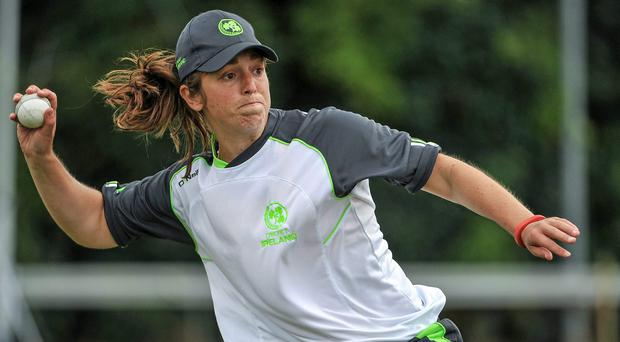 Ireland captain Isobel Joyce turned things around against China in a chirpy stand of 40 with Laura Delany