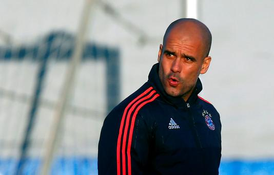 Bayern coach Pep Guardiola has been linked with both Manchester clubs