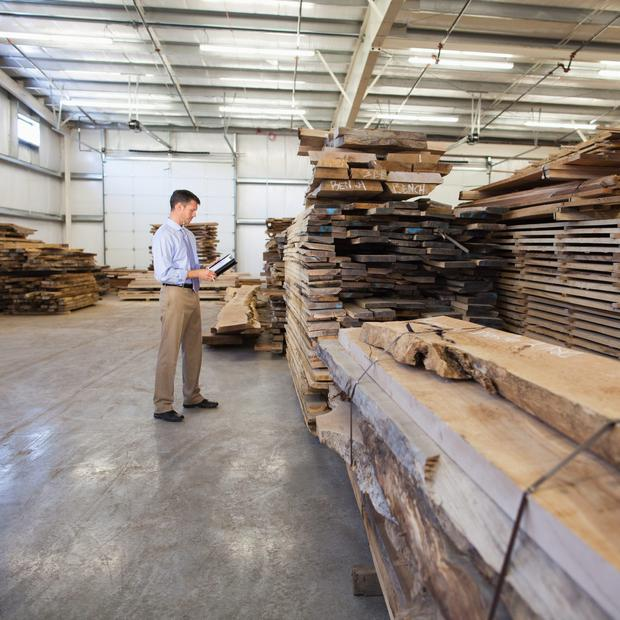 Profits at timber processing group, Glennon Bros last year more than doubled to €9.4m (stock image)