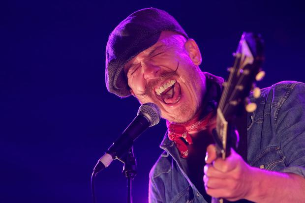 NEW YORK, NY - MAY 31: Recording artist Foy Vance performs on stage at Barclays Center on May 31, 2015 in New York City. (Photo by Brent N. Clarke/FilmMagic)
