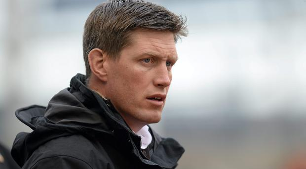 Racing Metro defence coach Ronan O'Gara