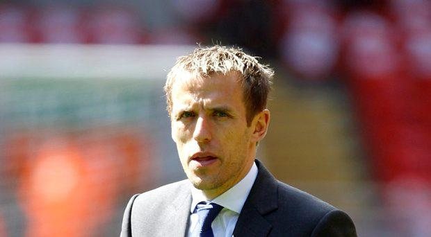 Former Manchester United and England full-back Phil Neville